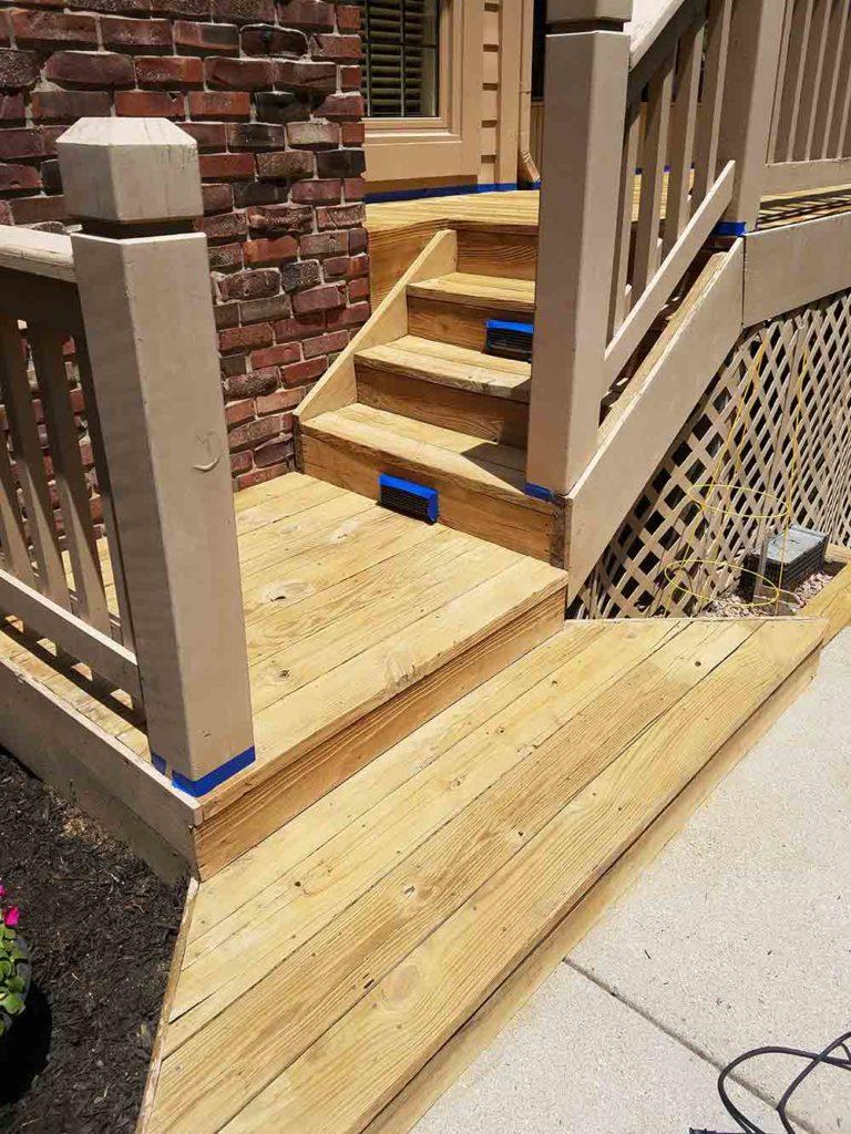 Beautiful-sealed-wood-stairs