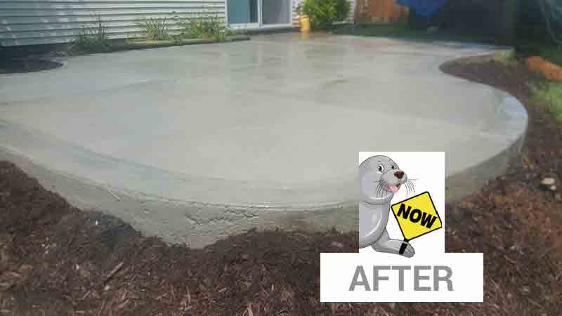 after-concrete sealing